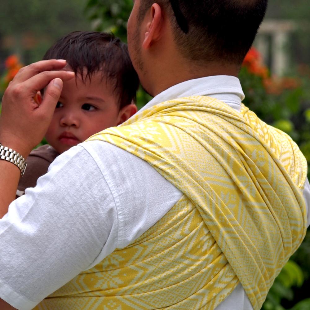 Daiesu Octagram Buttercup Woven Baby Wrap Daiesu